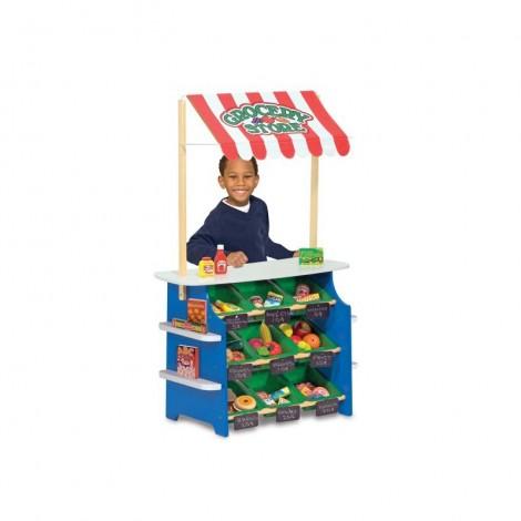 Imagine 2Stand de joaca din lemn Fructe si Legume