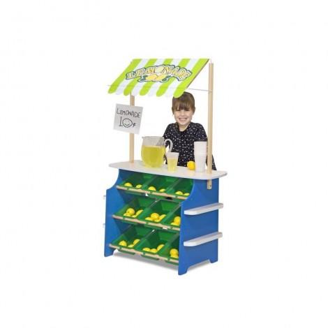 Imagine 3Stand de joaca din lemn Fructe si Legume