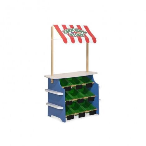 Imagine 4Stand de joaca din lemn Fructe si Legume