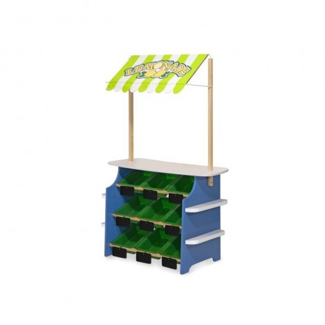 Imagine 5Stand de joaca din lemn Fructe si Legume