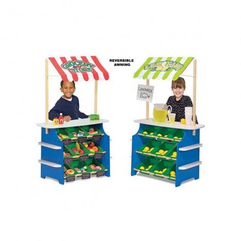 Imagine 1Stand de joaca din lemn Fructe si Legume