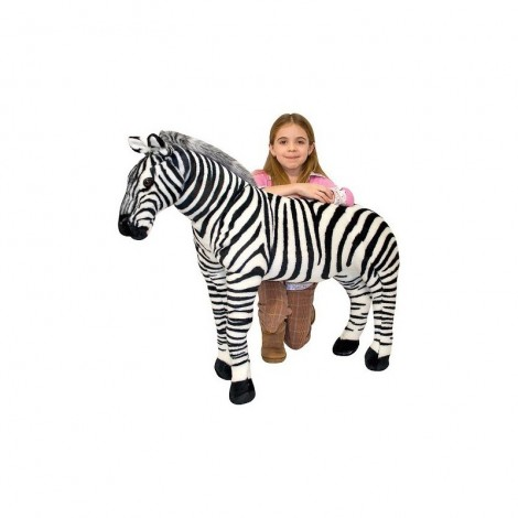 Imagine 2Zebra gigant din plus