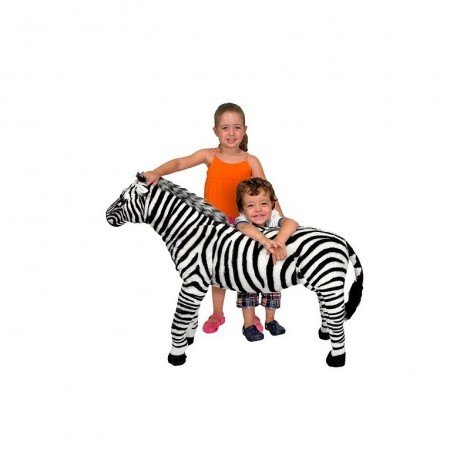 Imagine 3Zebra gigant din plus