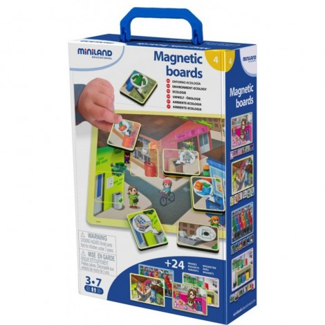 Imagine 1Joc magnetic Mediu si reciclare