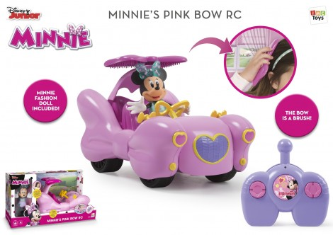 Imagine 2Minnie Masinuta Fashion RC si Figurina