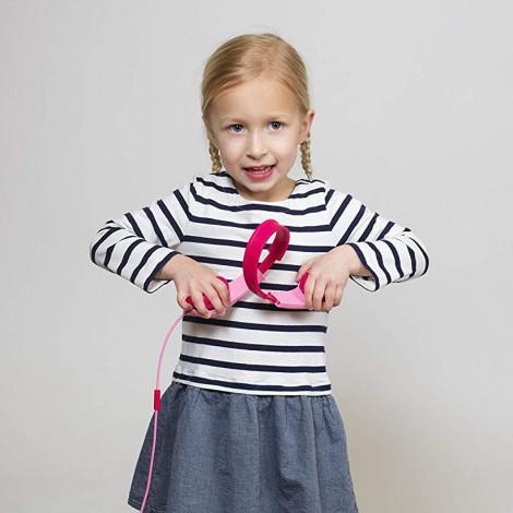 Imagine 7Casti Pentru Copii Squads 200 Roz