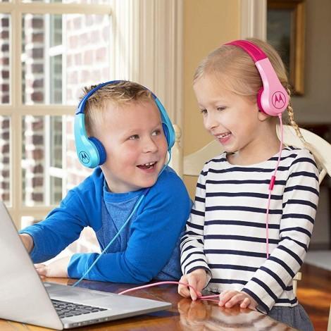 Imagine 5Casti Pentru Copii Squads 200 Roz