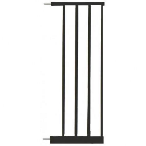 Imagine 1Extensie poarta de siguranta Easy Fit, metal negru, 28 cm