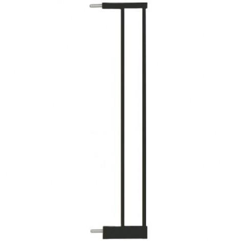 Imagine 1Extensie poarta de siguranta Easy Fit, metal negru, 14 cm