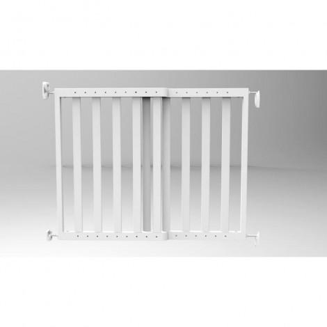 Imagine 2Poarta de siguranta extensibila 64 – 100 cm, lemn alb