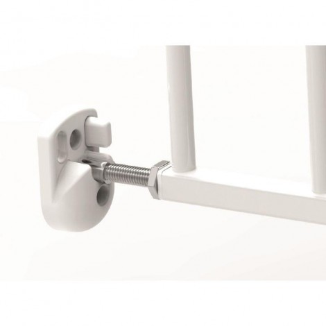 Imagine 10Poarta de siguranta extensibila 62 – 102 cm, metal alb