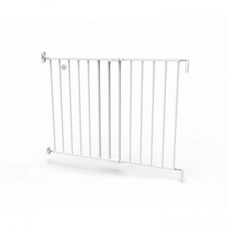 Imagine 5Poarta de siguranta extensibila 62 – 102 cm, metal alb