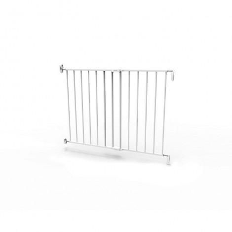 Imagine 6Poarta de siguranta extensibila 62 – 102 cm, metal alb