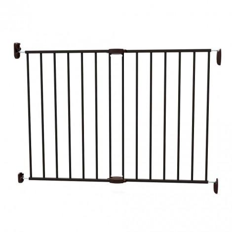 Imagine 1Poarta de siguranta extensibila 62 – 102 cm, metal negru