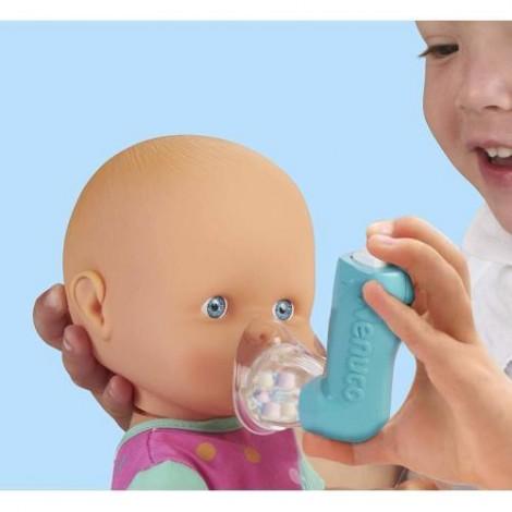 Imagine 2Papusa Bebelus Nenuco cu Rosu in Gat