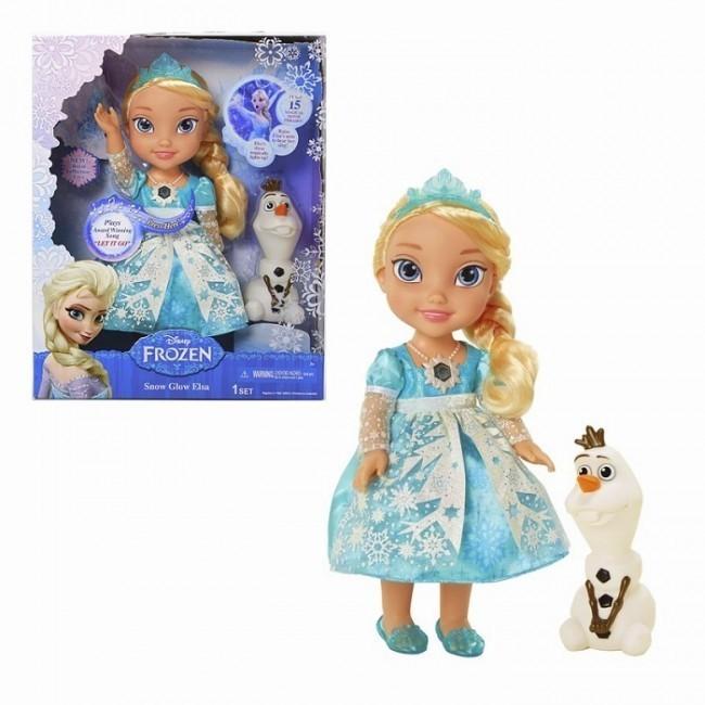 Papusa Elsa Snow Glow