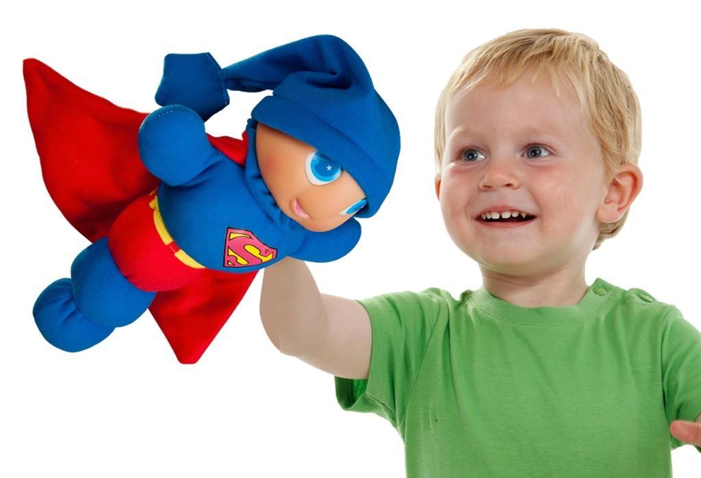 Papusa Gusy Luz Superman