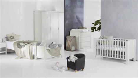 Imagine 5Patut de lemn Marie-Sofie White