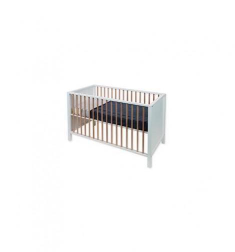 Imagine 4Patut de lemn Nordic White & Naturel 120 x 60 cm