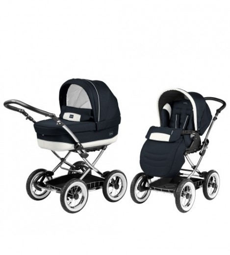 Imagine 1Carucior Primonido 2 in 1 Classico Chrome Luxe Blue