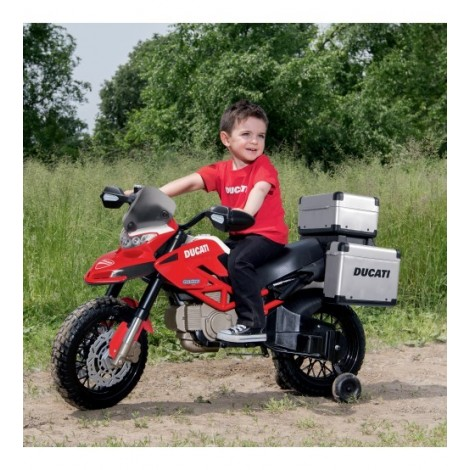 Imagine 6Motocicleta Ducati Enduro