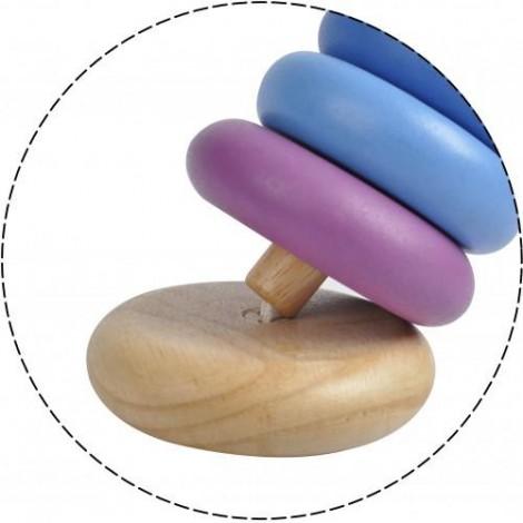 Imagine 2Turnulet pentru stivuit cu inele colorate