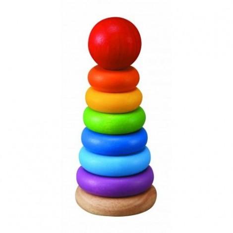 Imagine 1Turnulet pentru stivuit cu inele colorate