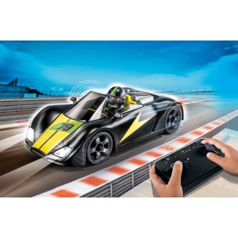 Imagine 2Masina de curse cu telecomanda, neagra