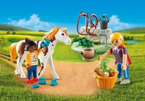 Imagine 2Set portabil - Copii cu cal