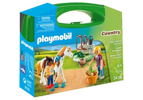 Imagine 1Set portabil - Copii cu cal