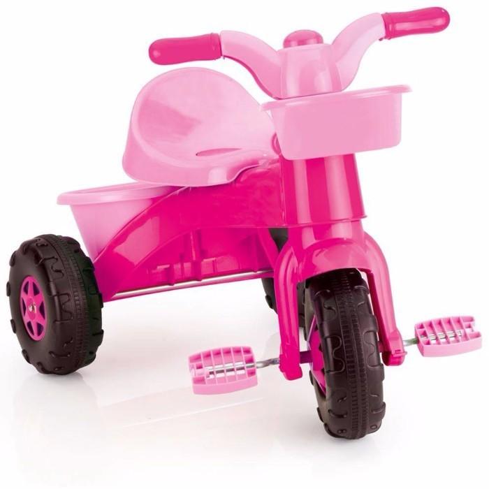 Prima mea tricicleta Rapida Roz