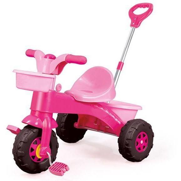 Prima mea tricicleta cu maner - Roz