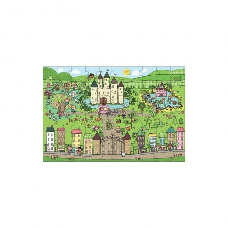 Imagine 2Primul meu puzzle de podea eco Tinutul Printelesor