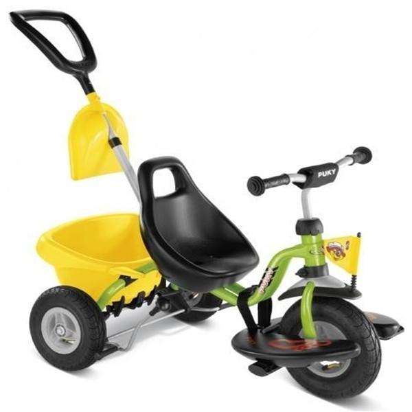 Tricicleta cu Maner pentru Parinti - Verde
