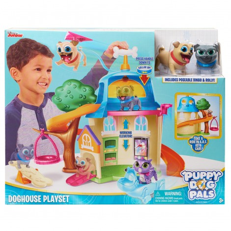 Imagine 1Puppy Dog Pals Set de Joaca Casa Cateilor