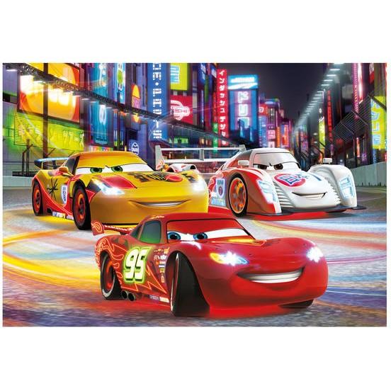 Puzzle - Cars in cursa de noapte