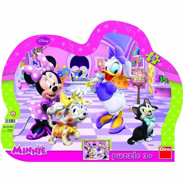 Puzzle cu rama - Minnie si Daisy