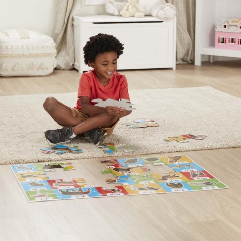 Imagine 4Puzzle de podea Alfabetul in engleza