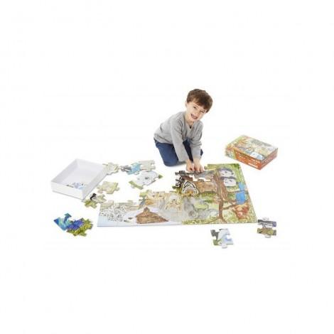 Imagine 2Puzzle de podea Animale protejate