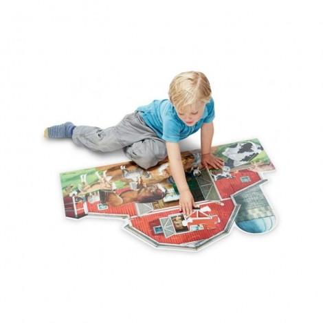 Imagine 2Puzzle de podea Ferma cu animale