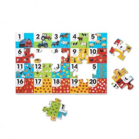 Imagine 2Puzzle de podea Numara animalele