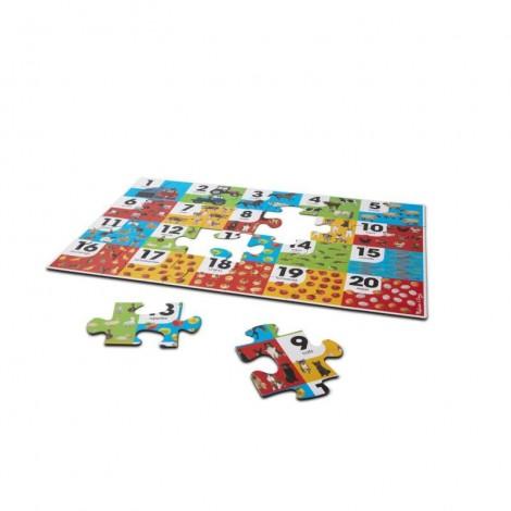 Imagine 3Puzzle de podea Numara animalele