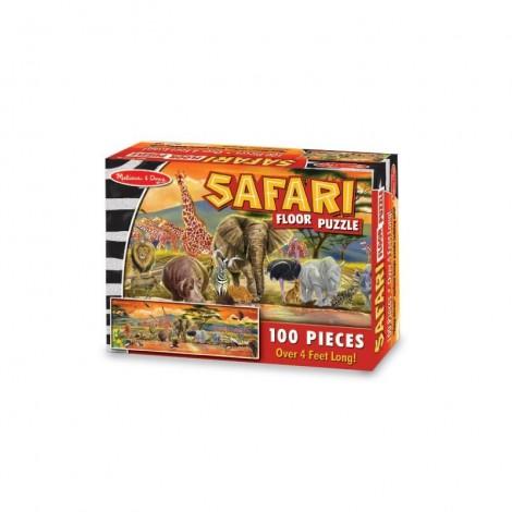 Imagine 2Puzzle de podea Safari 100 piese