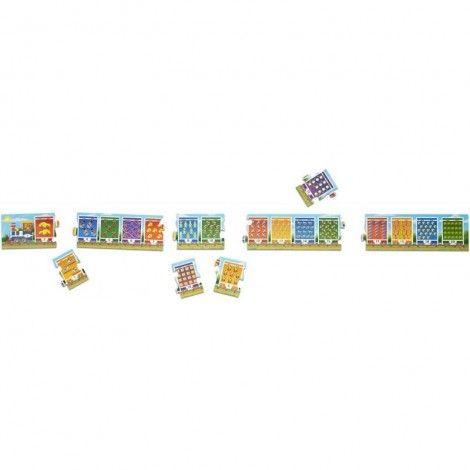 Imagine 2Puzzle de podea Trenuletul numerelor