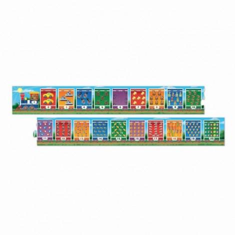 Imagine 1Puzzle de podea Trenuletul numerelor