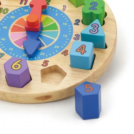 Imagine 2Puzzle din lemn Ceas