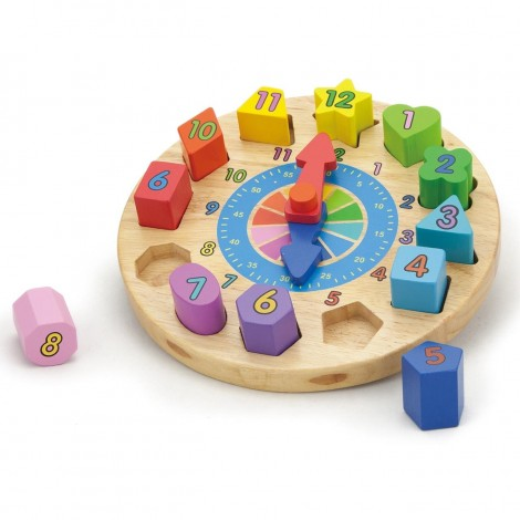 Imagine 1Puzzle din lemn Ceas