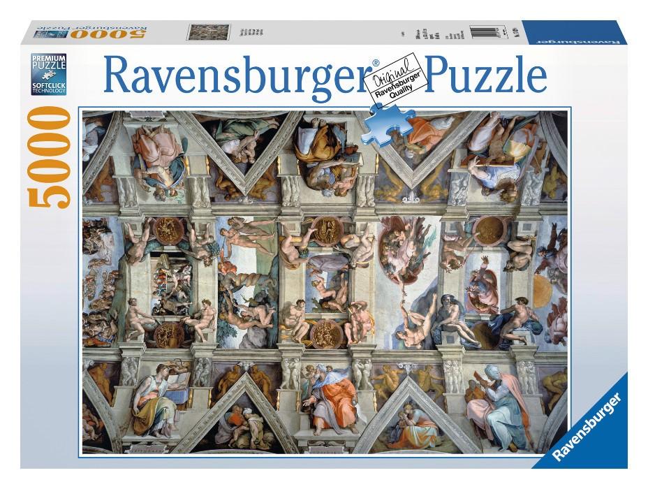 Puzzle Capela Sixtina, 5000 piese