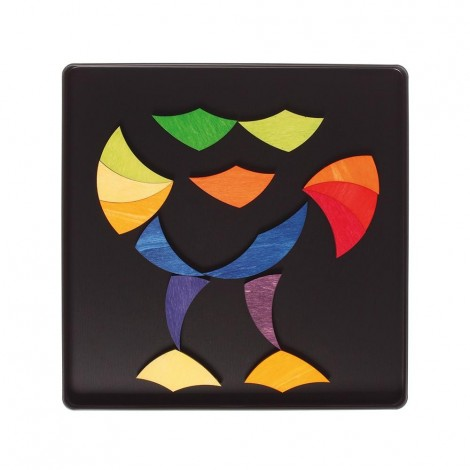 Imagine 3ROATA CURCUBEU - PUZZLE MAGNETIC
