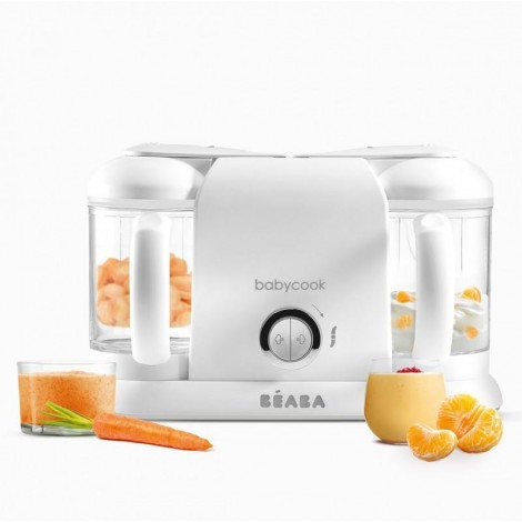 Imagine 1Robot Babycook Plus White Silver